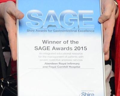 2015 July SAGE award