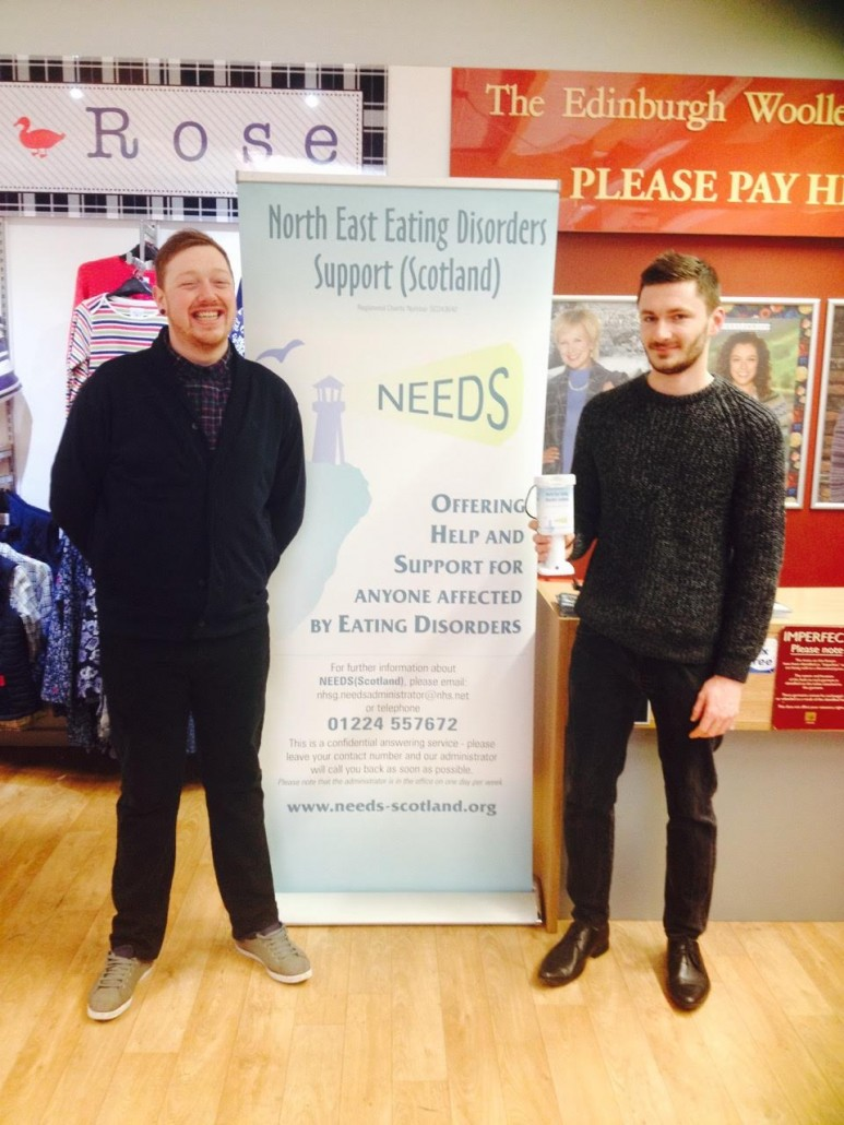 Edinburgh Woollen Mill staff raise awareness of eating disorders in the workplace
